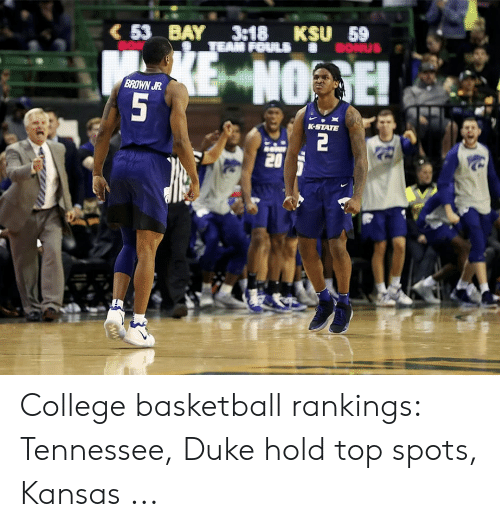 25 Best Memes About College Basketball Rankings