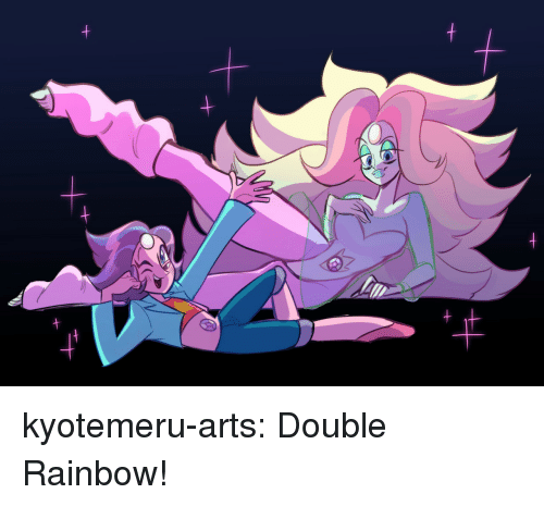 Target, Tumblr, and Blog: kyotemeru-arts:  Double Rainbow!