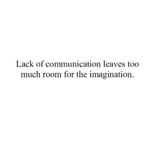 Memes, Too Much, and 🤖: Lack of communication leaves too  much room for the imagination