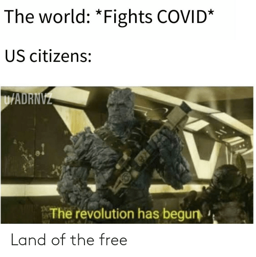 Land: Land of the free