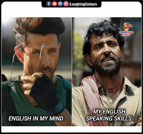 English, Mind, and Indianpeoplefacebook: LaughingColours  fD  LAUGHING  Celours  MY ENGLISH  SPEAKING SKILLS  ENGLISH IN MY MIND
