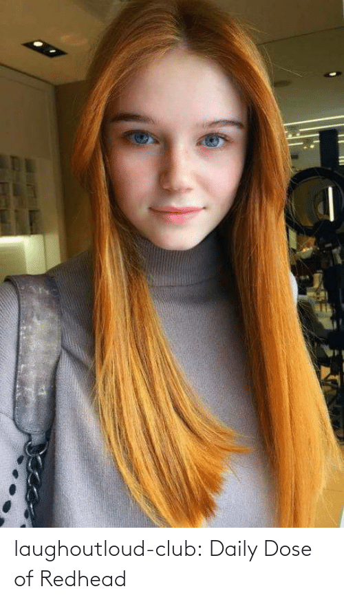 daily: laughoutloud-club:  Daily Dose of Redhead