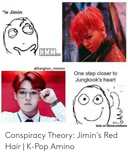 Le Jimin Memes One Step Closer To Jungkook S Heart Conspiracy