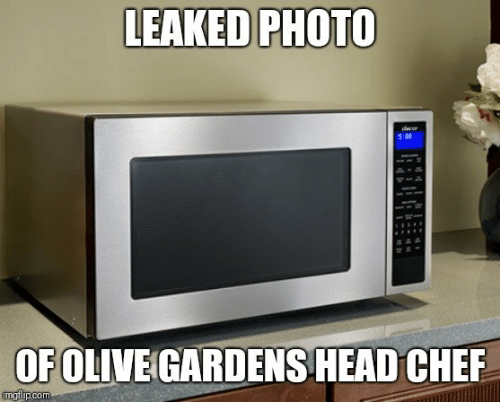 Dank, Head, and Chef: LEAKED PHOTO  OF OLIVE GARDENS HEAD CHEF  imgflip.com