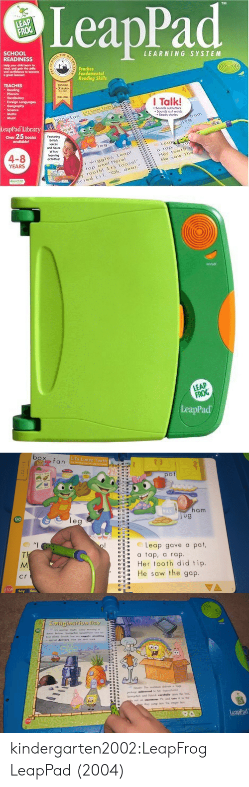 Books leapfrog and music leappad school readiness learning system teaches fundomental reoding skills