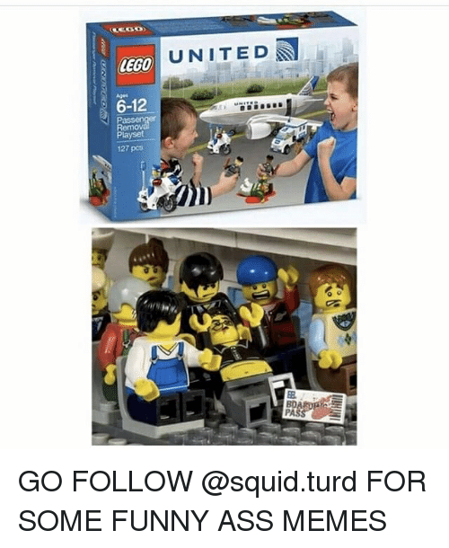 funny ass memes: LEGO  6-12  Pass  layset  127 pcs  UNITED  PASS GO FOLLOW @squid.turd FOR SOME FUNNY ASS MEMES