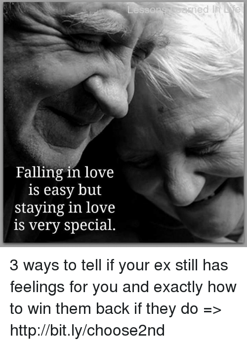 Lesso Falling in Love Is Easy but Staying in Love Is Very