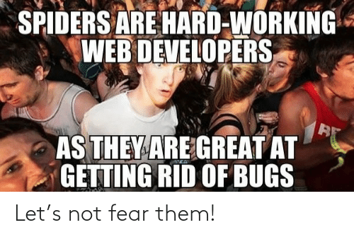 Let: Let's not fear them!