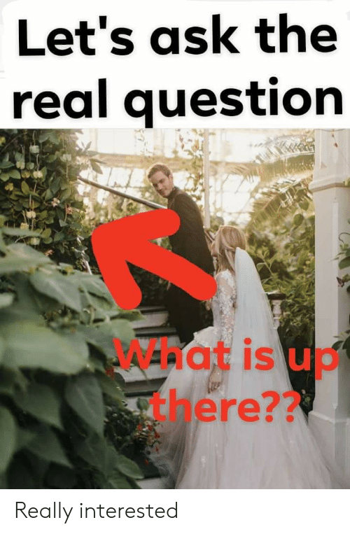 The Real, Ask, and Hat: Let's ask the  real question  hat is uo  abere?? Really interested
