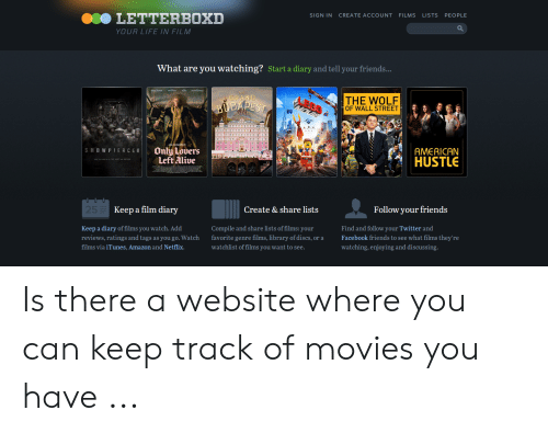 LETTERBOXD SIGN IN CREATE ACCOUNT FILMS LISTS PEOPLE YOUR