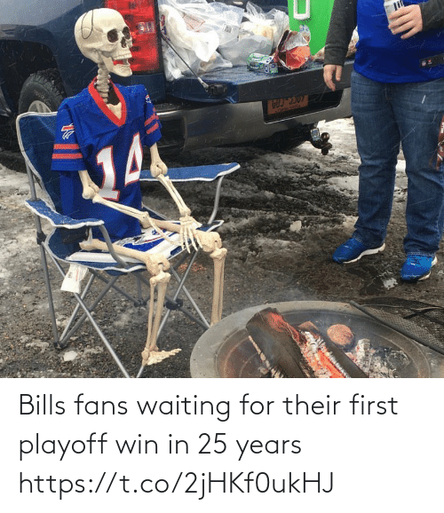Waiting...: li  ATREBE SEAl  Acon Bills fans waiting for their first playoff win in 25 years https://t.co/2jHKf0ukHJ