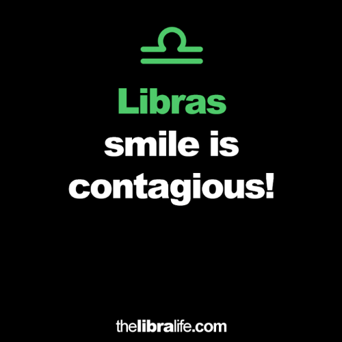 Contagious, Smile, and Com: Libras  smile is  contagious!  thelibralife.com