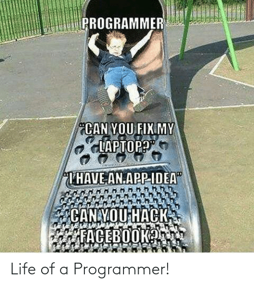 Life Of: Life of a Programmer!