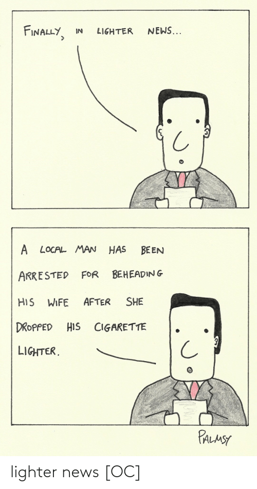 News: lighter news [OC]