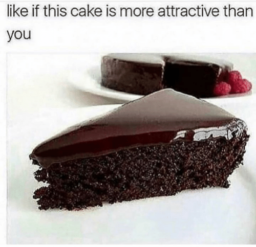 Cake, You, and More: like if this cake is more attractive than  you