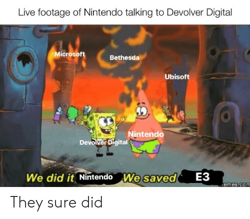 Live Footage of Nintendo Talking to Devolver Digital