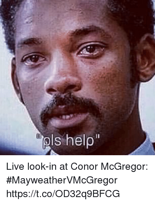 Conor McGregor, Sports, and Live: Live look-in at Conor McGregor: #MayweatherVMcGregor https://t.co/OD32q9BFCG