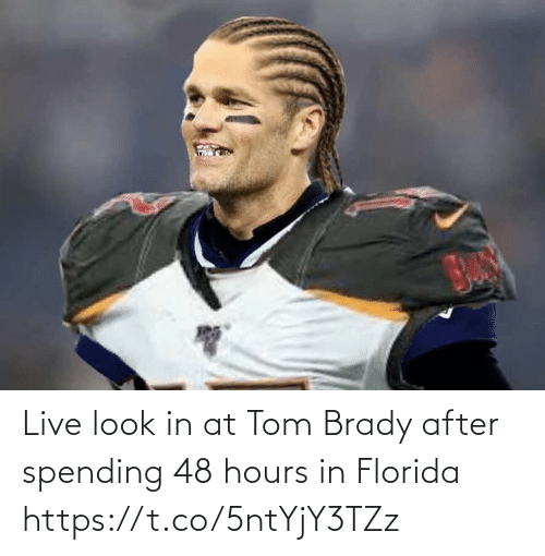 tom: Live look in at Tom Brady after spending 48 hours in Florida https://t.co/5ntYjY3TZz
