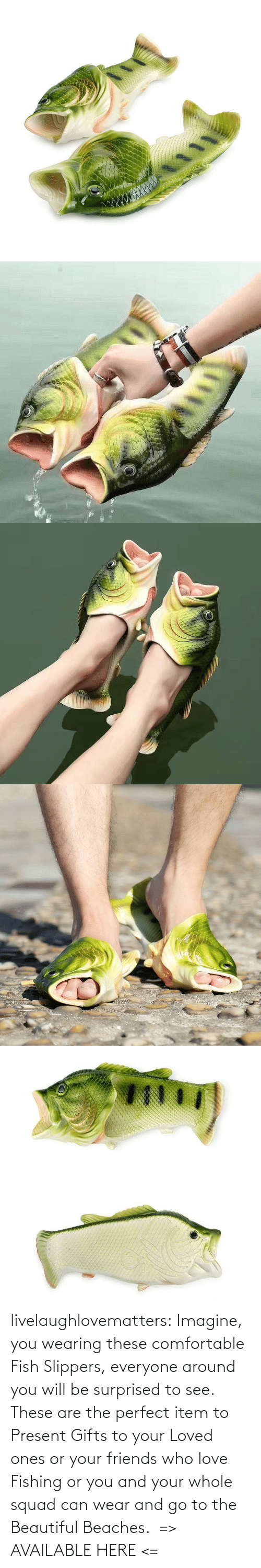 present: livelaughlovematters: Imagine, you wearing these comfortable Fish Slippers, everyone around you will be surprised to see. These are the perfect item to Present Gifts to your Loved ones or your friends who love Fishing or you and your whole squad can wear and go to the Beautiful Beaches.  => AVAILABLE HERE <=
