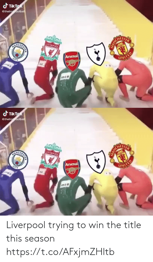 Liverpool F.C.: Liverpool trying to win the title this season https://t.co/AFxjmZHltb