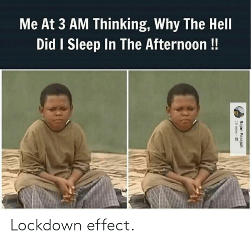 effect: Lockdown effect.