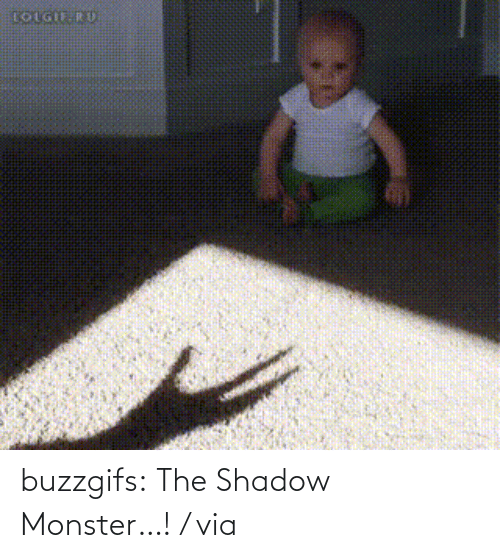 Shadow Monster: LOLGIFRU buzzgifs:  The Shadow Monster…! / via