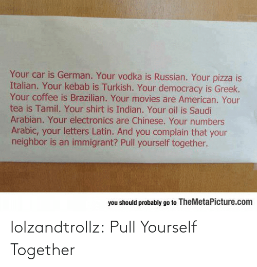 Pull: lolzandtrollz:  Pull Yourself Together