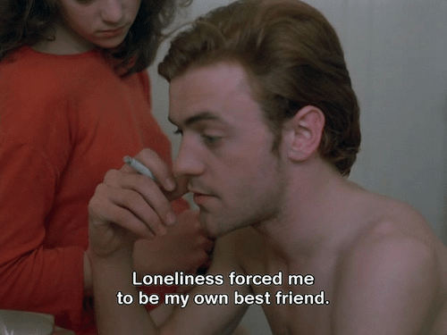 Best Friend, Best, and Loneliness: Loneliness forced me  to be my own best friend.