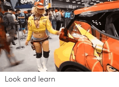 Look, And, and Learn: Look and learn