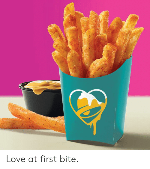 Dank, Love, and 🤖: Love at first bite.