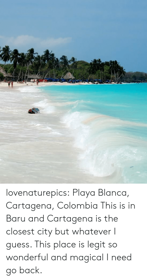 Tumblr, Blog, and Colombia: lovenaturepics: Playa Blanca, Cartagena, Colombia This is in Baru and Cartagena is the closest city but whatever I guess. This place is legit so wonderful and magical I need go back.