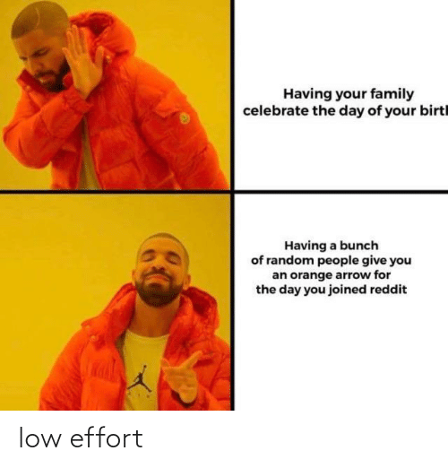 Low: low effort