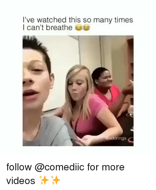Memes, Videos, and 🤖: l've watched this so many times  I can't breathe t  adorings follow @comediic for more videos ✨✨