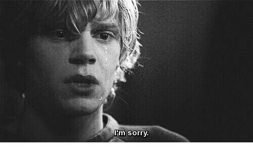 Sorry, M Sorry, and M: m sorry