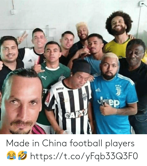 China: Made in China football players 😂🤣 https://t.co/yFqb33Q3F0