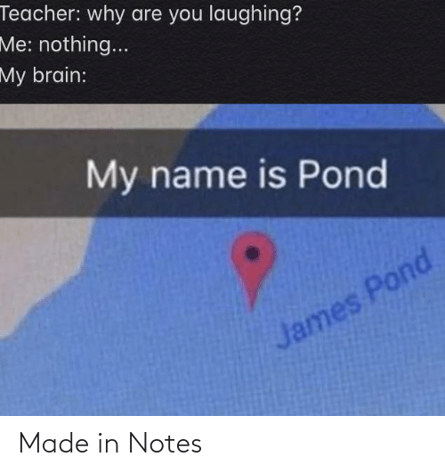 notes: Made in Notes