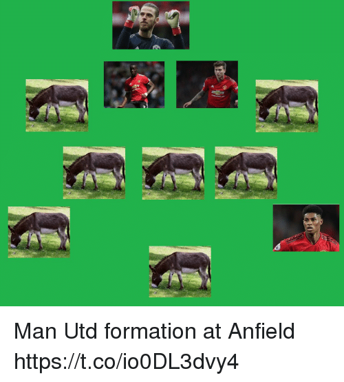 Formation: Man Utd formation at Anfield https://t.co/io0DL3dvy4