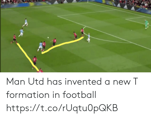 Formation: Man Utd has invented a new T formation in football https://t.co/rUqtu0pQKB