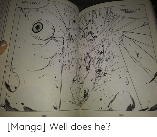 Does: [Manga] Well does he?