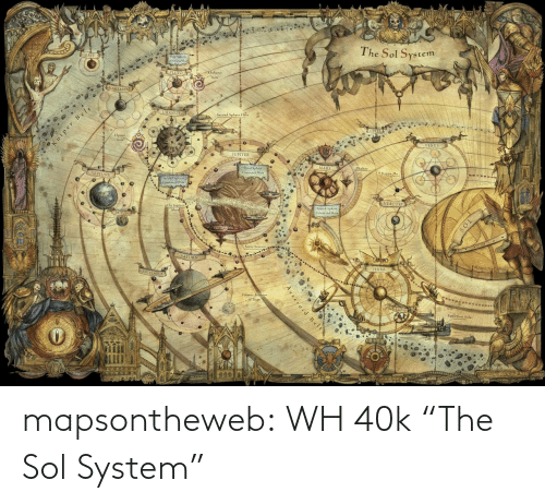 "sol: mapsontheweb:  WH 40k ""The Sol System"""