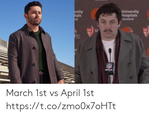 April: March 1st vs April 1st https://t.co/zmo0x7oHTt