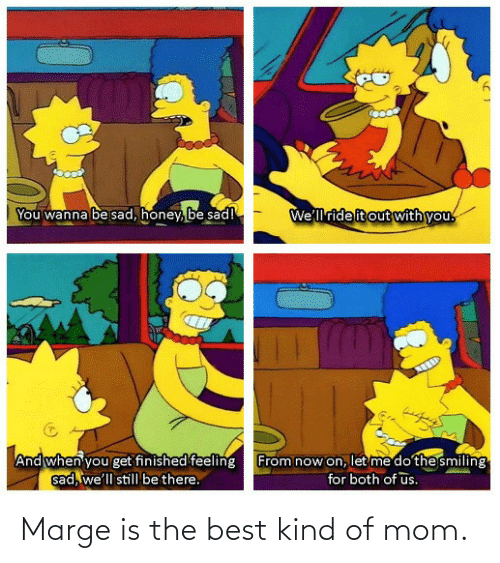 Best, Mom, and The Best: Marge is the best kind of mom.