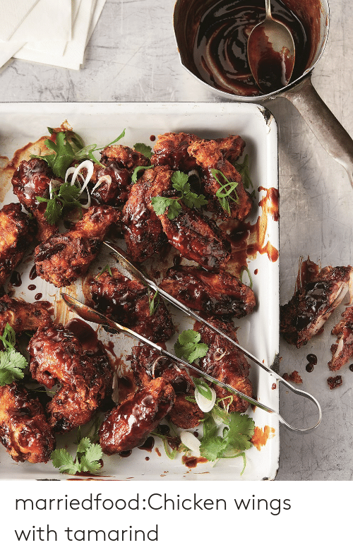 chicken wings: marriedfood:Chicken wings with tamarind