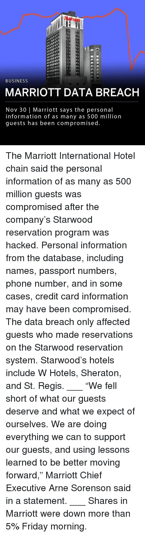 """Friday, Memes, and Phone: Marrmott  ITII  TII  BUSINESS  MARRIOTT DATA BREACH  Nov 30