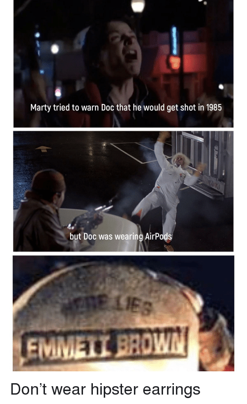 Marty Tried to Warn Doc That He Would Get Shot in 1985 but