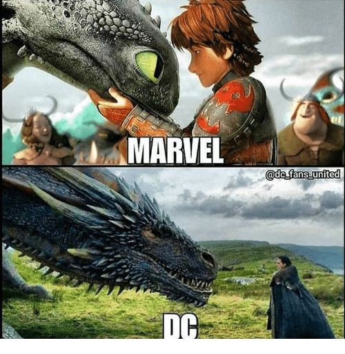 Game of Thrones, Marvel, and Marvel Dc: MARVEL  DC