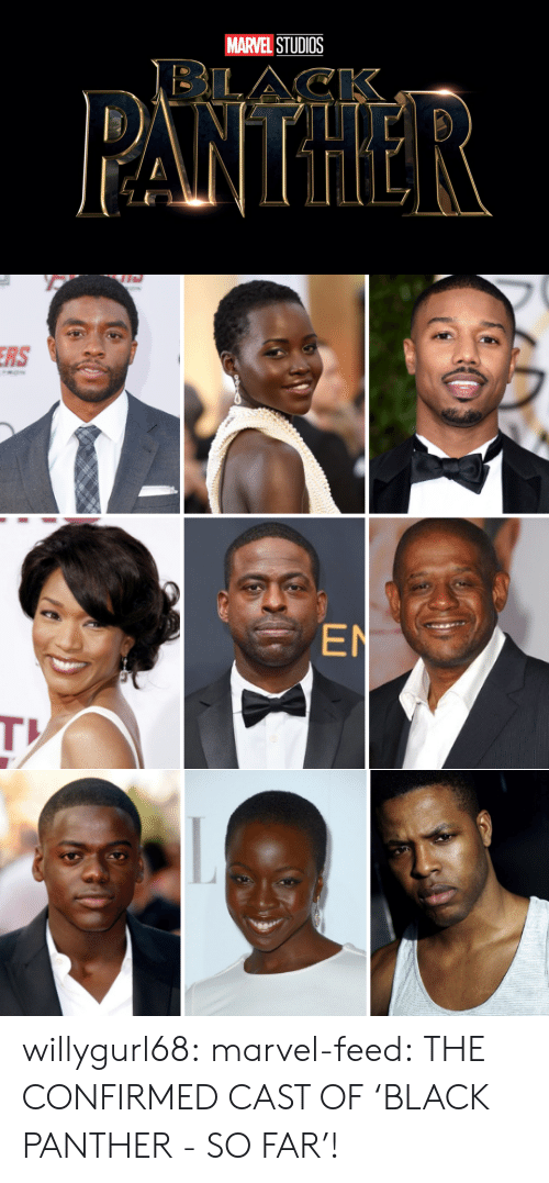 Reactiongifs: MARVEL STUDIOS   RS  EN willygurl68:  marvel-feed:  THE CONFIRMED CAST OF'BLACK PANTHER - SO FAR'!