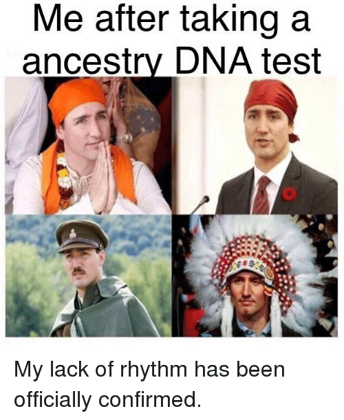 Funny, Ancestry, and Test: Me after taking a  ancestry DNA test My lack of rhythm has been officially confirmed.