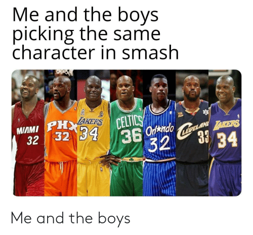 the boys: Me and the boys