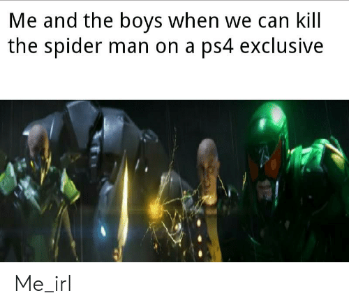 Grenades Are Just Spicy Water Balloons 3 | SpiderMan Meme on